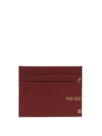 Vetements Passport-print Leather Cardholder