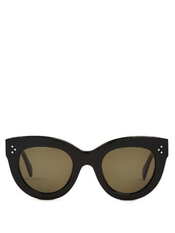 Céline Sunglasses Cat-eye Frame Acetate Sunglasses
