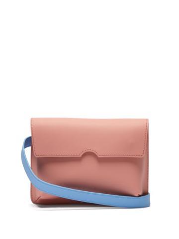 Matchesfashion.com Pb 0110 - Ab65 Leather Belt Bag - Womens - Pink Multi
