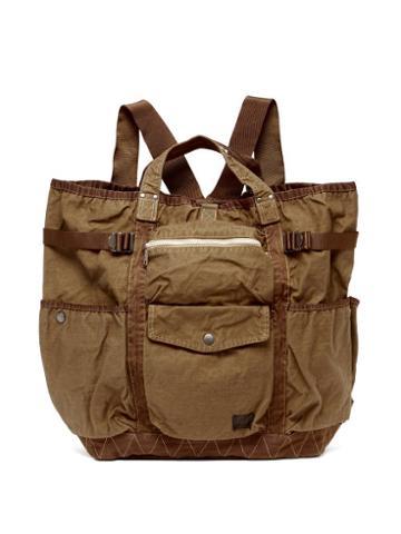 Matchesfashion.com Porter-yoshida & Co. - Porter Crag Backpack - Womens - Brown