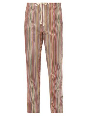 Matchesfashion.com Paul Smith - Signature Striped Cotton Pyjama Trousers - Mens - Multi