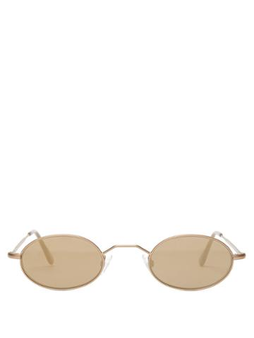 Andy Wolf Armstrong Oval-frame Sunglasses