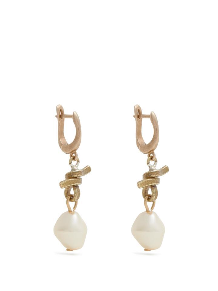 Marni Pearl Drop Earrings
