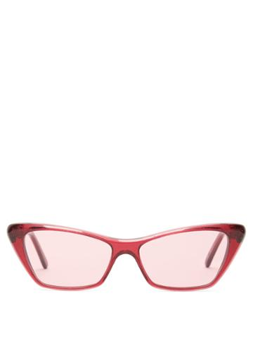 Andy Wolf Cat-eye Tinted Sunglasses