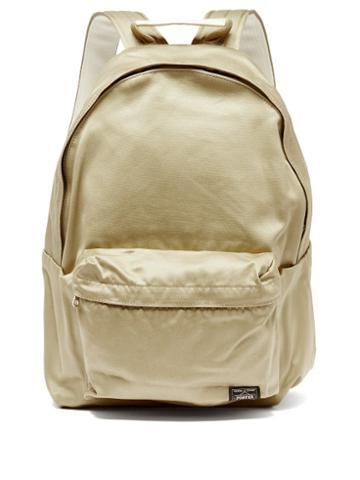 Matchesfashion.com Porter-yoshida & Co. - Weapon Cotton-canvas Backpack - Mens - Beige