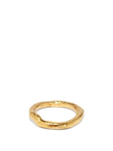 Alighieri - The Gaze Of The Satellite 24kt Gold-plated Ring - Womens - Gold