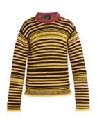 Matchesfashion.com Calvin Klein 205w39nyc - Striped Wool Sweater - Mens - Multi