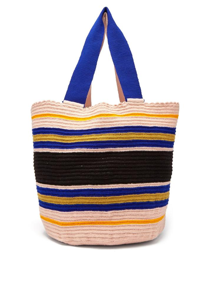 Sophie Anderson Woven Crochet Tote Bag