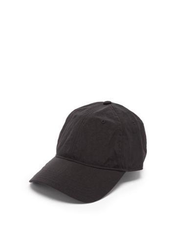 Y-3 - Logo-print Canvas Baseball Cap - Mens - Black