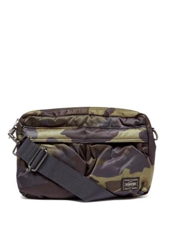 Matchesfashion.com Porter-yoshida & Co. - Counter Shade Small Camouflage-print Shoulder Bag - Womens - Khaki Multi