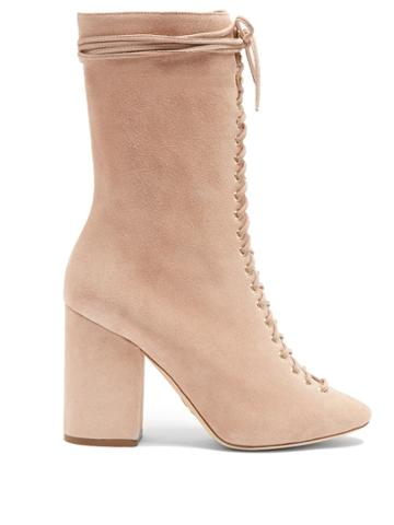 Brother Vellies Lali Lace-up Suede Boots