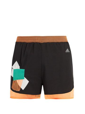 Adidas By Kolor Climachill Layered Shorts