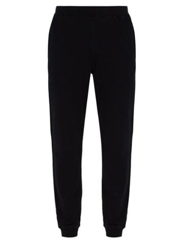 Matchesfashion.com Sunspel - Cotton Blend Track Pants - Mens - Black