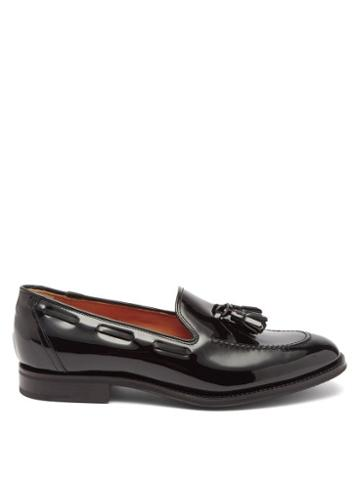 Church's - Kingsley Tasselled Leather Loafers - Womens - Black