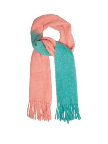 Acne Studios Kelowna Two-tone Felted Wool-blend Scarf