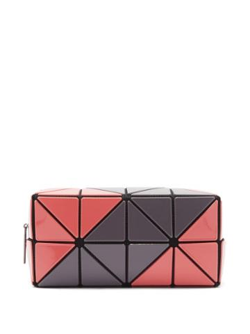 Matchesfashion.com Bao Bao Issey Miyake - Lucent Pvc Make-up Bag - Womens - Brown Multi