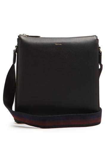 Paul Smith City Webbing Leather Messenger Bag
