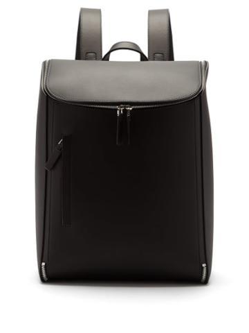 Matchesfashion.com Bonastre - Kimono Leather Backpack - Mens - Black