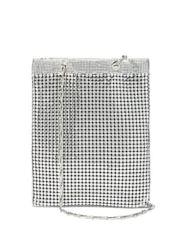 Matchesfashion.com Paco Rabanne - Pixel Metal-chainmail Tote - Womens - Silver Multi