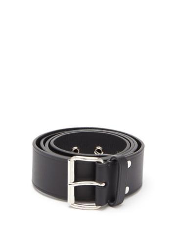 Matchesfashion.com A.p.c. - Noah Leather Belt - Mens - Black