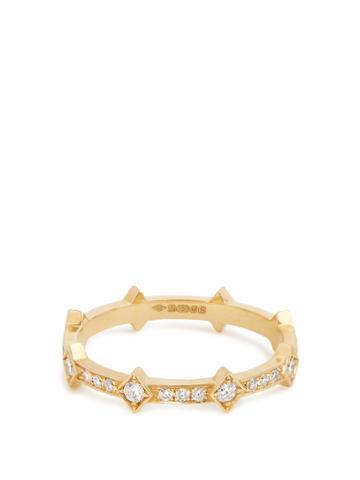 Azlee Illuminate Diamond & Yellow-gold Ring