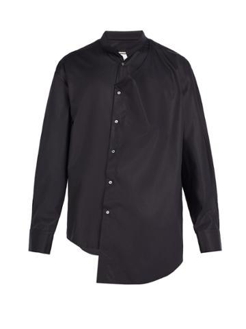 Wooyoungmi Asymmetric Cotton-blend Shirt