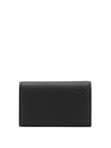 Matchesfashion.com Loewe - Anagram-debossed Leather Cardholder - Mens - Black