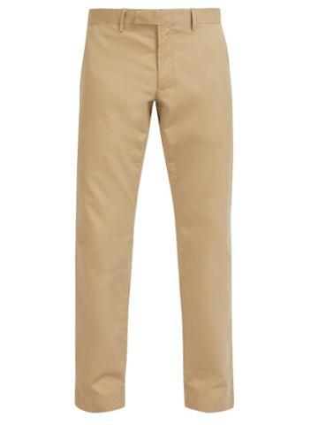 Matchesfashion.com Polo Ralph Lauren - Cotton Blend Chino Trousers - Mens - Beige