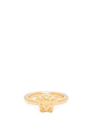 Matchesfashion.com Versace - Medusa Head Ring - Womens - Gold