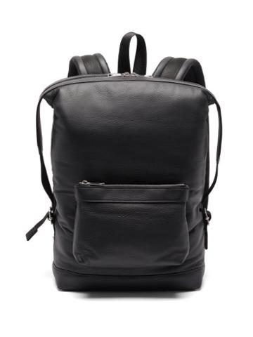 Matchesfashion.com Bottega Veneta - Padded Leather Backpack - Mens - Black