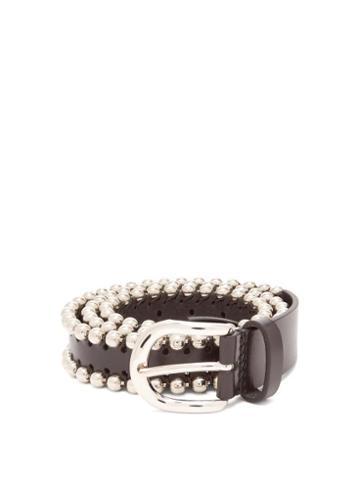 Matchesfashion.com Isabel Marant - Tokky Leather Belt - Womens - Black