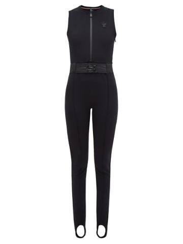 Matchesfashion.com Moncler Grenoble - Tuta Stirrup Ankle Soft Shell Ski Suit - Womens - Black