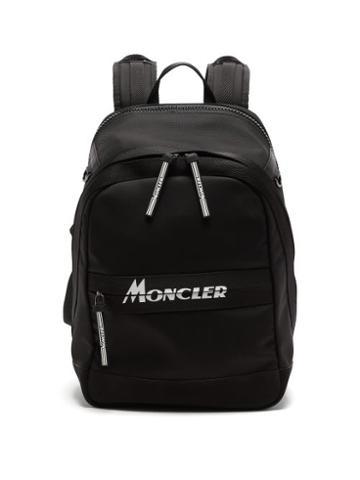 Matchesfashion.com Moncler - Gimont Logo-print Canvas Backpack - Mens - Black