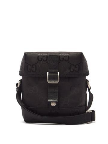 Matchesfashion.com Gucci - Off The Grid Gg-jacquard Messenger Bag - Mens - Black