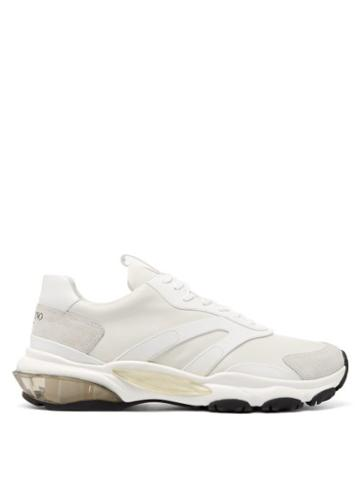 Matchesfashion.com Valentino - Bounce Leather Trainers - Mens - White