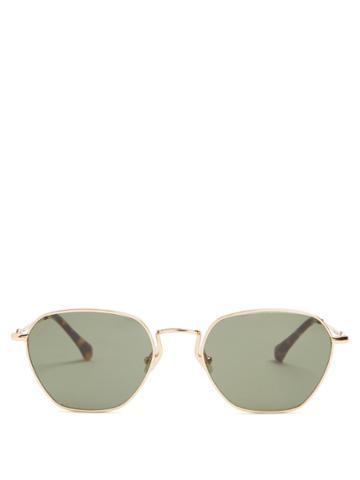Linda Farrow X Alessandra Rich Square-frame Sunglasses