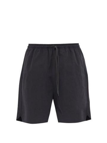 Matchesfashion.com Kuro - Cotton Twill Shorts - Mens - Black