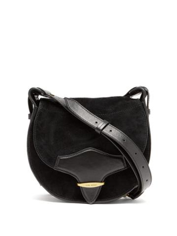 Matchesfashion.com Isabel Marant - Botsy Suede Shoulder Bag - Womens - Black