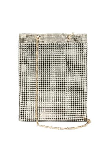 Matchesfashion.com Paco Rabanne - Pixel Chainmail Tote Bag - Womens - Light Gold