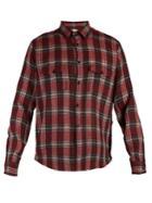 Saint Laurent Checked Wool Shirt