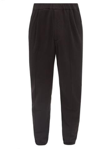 Barena Venezia - Scaleter Cotton-blend Track Pants - Mens - Black