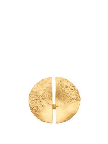 Matchesfashion.com Misho - Split Gold Plated Ring - Womens - Gold