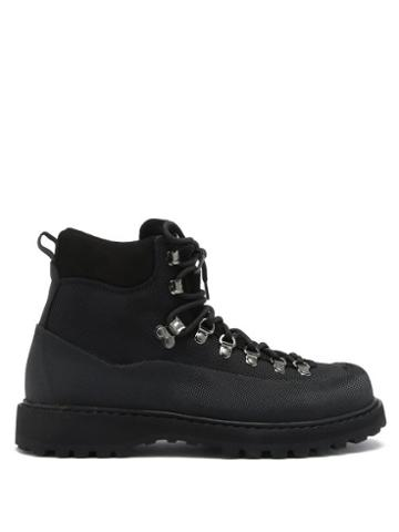 Matchesfashion.com Diemme - Roccia Vet Canvas Hiking Boots - Womens - Black