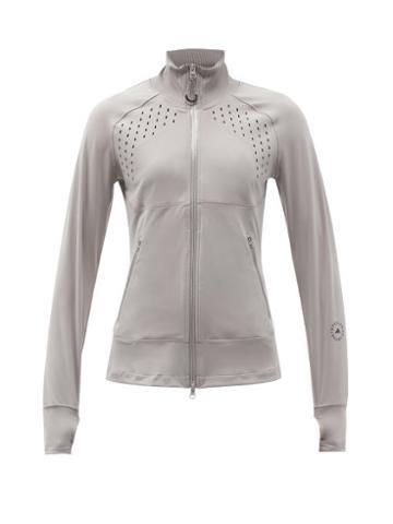 Matchesfashion.com Adidas By Stella Mccartney - Truepurpose Zip-up Jacket - Womens - Light Grey