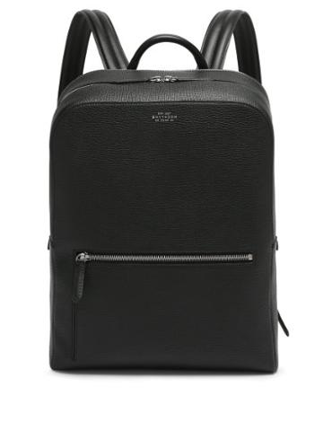 Matchesfashion.com Smythson - Ludlow Grained-leather Backpack - Mens - Black