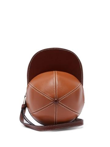 Matchesfashion.com Jw Anderson - Cap Midi Leather Cross-body Bag - Mens - Tan