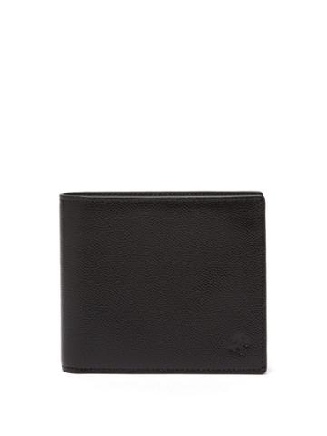 Want Les Essentiels Benin Pebble-grain Leather Bi-fold Wallet