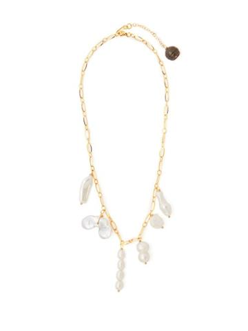 Matchesfashion.com Timeless Pearly - Baroque Pearl Drop Necklace - Womens - Pearl