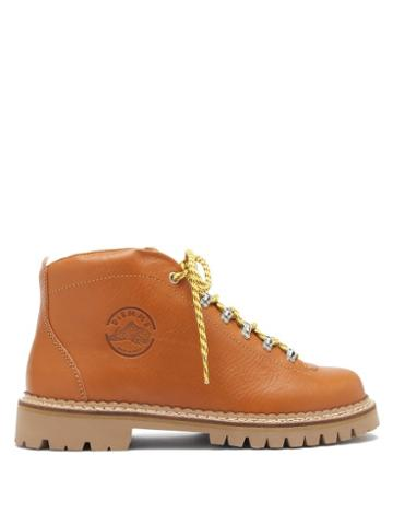Matchesfashion.com Diemme - Tirol Leather Hiking Boots - Womens - Tan