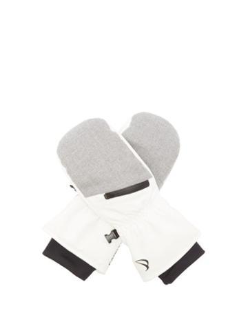 Matchesfashion.com Capranea - Form Ski Gloves - Womens - Grey